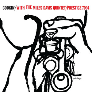 Album cover for Cookin' with the Miles Davis Quintet