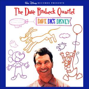 Album cover for Dave Digs Disney