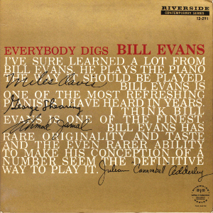 Album cover for Everybody Digs Bill Evans