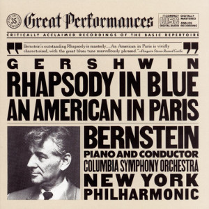 Album cover for Rhapsody in Blue & An American in Paris