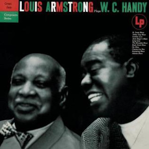 Album cover for Louis Armstrong Plays W.C. Handy