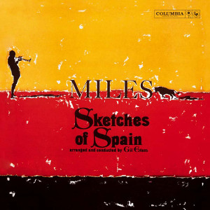 Album cover for Sketches of Spain