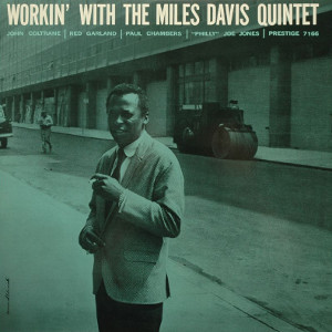 Album cover for Workin' with the Miles Davis Quintet